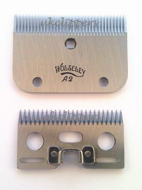 Wolseley Original A2 Blades