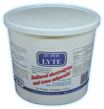Blood Builders & Electrolyte Tonics